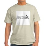 New York Helicopter Logo T-Shirt