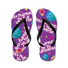 Best Pharmacist in the Universe Flip Flops