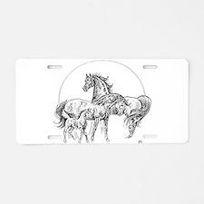 Logo Aluminum License Plate