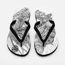 Owl Dream Flip Flops