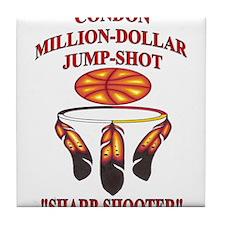 """CONDON MILLION-DOLLAR JUMP-SHOT """"SHARP-SHOOTER"""" Ti"""