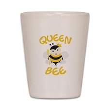 Queen Bee Shot Glass