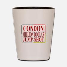 CONDON MILLION-DOLLAR JUMP-SHOT2 Shot Glass