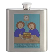 Looney Twins How Old Flask