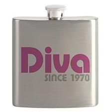 Diva Since 1970 Flask