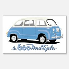 Multipla Rectangle Decal