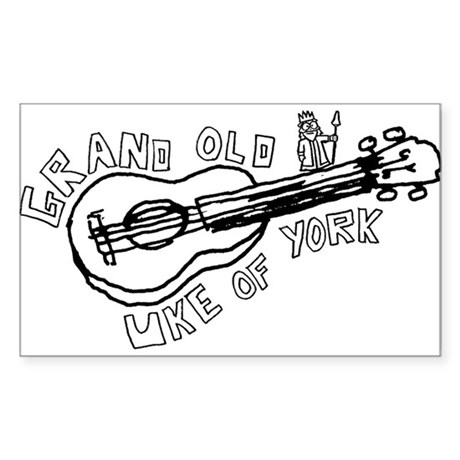 Grand Old Uke of York Sticker