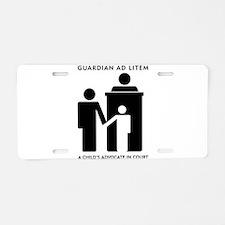 Cute Volunteering Aluminum License Plate