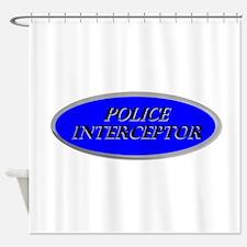 Police Interceptor Shower Curtain