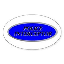 Police Interceptor Decal