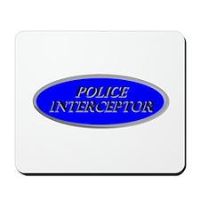 Police Interceptor Mousepad