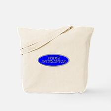Police Interceptor Tote Bag