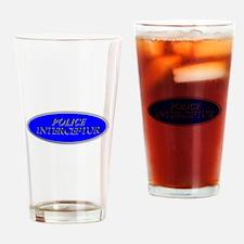 Police Interceptor Drinking Glass