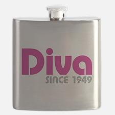 Diva Since 1949 Flask