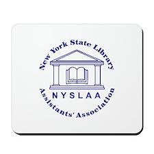 NYSLAA logo Mousepad