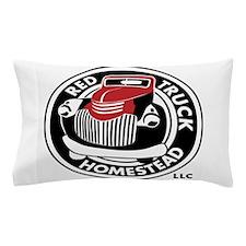 Black&RedSpotLogo Pillow Case