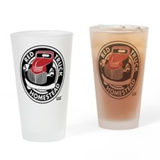Black&RedSpotLogo Drinking Glass