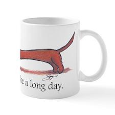 Long Day Dachshund T-Shirt Small Mug