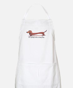 Long day Dachshund Apron