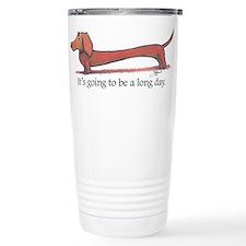 Long day Dachshund Travel Mug