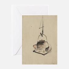 Hokusai Katsushika - Badger Tea Kettle - Circa 184