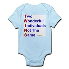 Looney Twins T-W-I-N-S Body Suit
