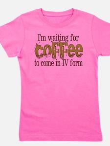 Coffee IV Girl's Tee
