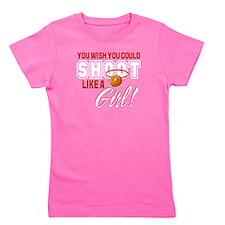 Basketball - Shoot Like a Girl Girl's Tee
