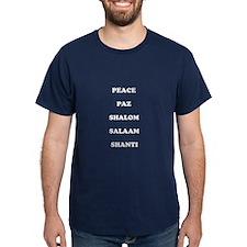 """Men's Dark """"Peace"""" T-Shirt"""