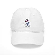 Westie Sea Baseball Captain Baseball Cap