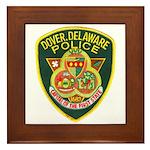 Dover Police Framed Tile