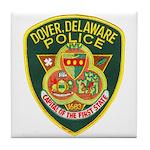 Dover Police Tile Coaster