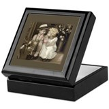 Boys keepsake box Square Keepsake Boxes