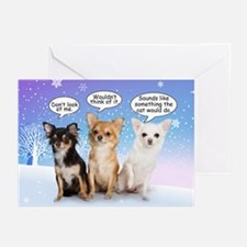 Funny Chihuahua Christmas Cards (Pk of 10