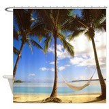 Caribbean islands Shower Curtains
