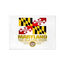 Maryland Pride 5'x7'Area Rug