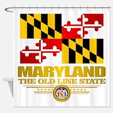 Maryland Pride Shower Curtain