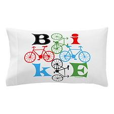 Four Bikes Pillow Case