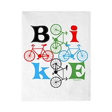 Four Bikes Twin Duvet