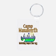 Camp WanaBeerEh Keychains