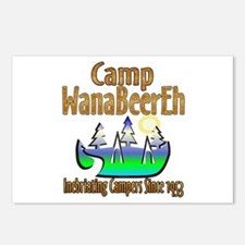 Camp WanaBeerEh Postcards (Package of 8)