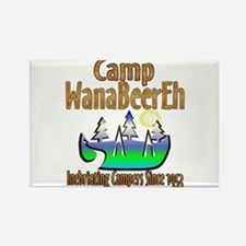 Camp WanaBeerEh Rectangle Magnet