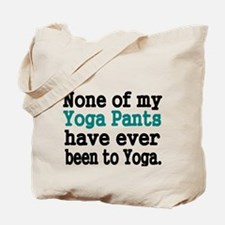 None of my Yoga Pants have ever been to Yoga Tote
