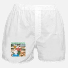 CONGRATULATIONS, YOU DID IT. Boxer Shorts