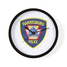 Harrisburg Police Wall Clock