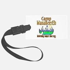 Camp WanaBeerEh Luggage Tag