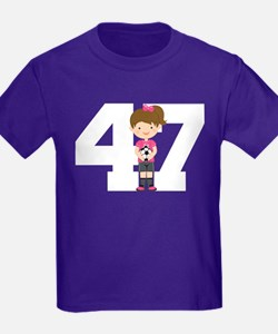 Soccer Sports Number 47 T