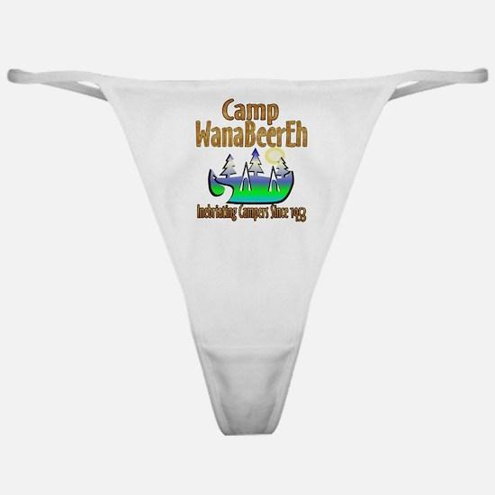 Camp WanaBeerEh Classic Thong