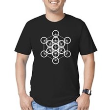 Metatron's Cube - Black T-Shirt