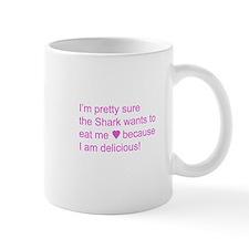 """""""The Shark Wants to Eat Me"""" Mug"""